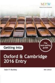 Getting Into Oxford & Cambridge 2016 Entry