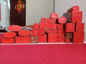 汉海典藏寿山石印章一批40个汇总发布