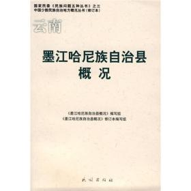 云南墨江哈尼族自治县概况