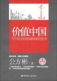 价值中国:当今社会价值观的深层思考
