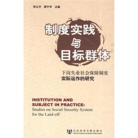 制度实践与目标群体:下岗失业社会保障制度实际运作的研究