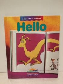 儿童阅读教材  Hello(Houghton Mifflin Invitations to Literacy)(原版教材)英文原版书