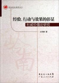 岭南理论视野丛书·经验、行动与效果的彰显:杜威价值论研究