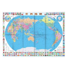 世界地图(装饰版 成图尺寸:1068*745mm)