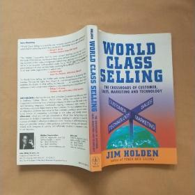 WORLD CLASS    世界级营销   英文原版