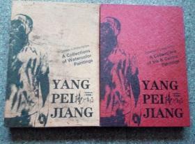 中国画家大观:杨培江 水彩卷+彩墨卷 (全二册)