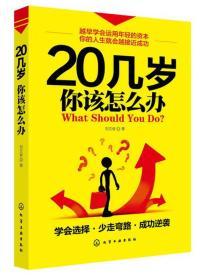 20几岁你该怎么办 刘文俊 化学工业出版社 1900年01月01日 9787122169808