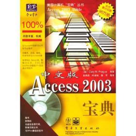 中文版Access 2003宝典