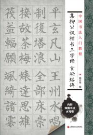 【正版】集柳公权楷书三字经 玄秘塔碑 施志伟编
