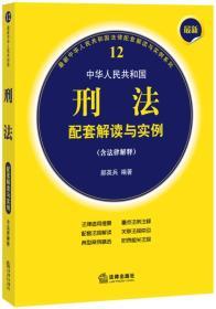 中华人民共和国刑法配套解读与实例 专著 郝英兵编著 zhong hua ren min gong he gu
