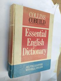 COLLINS COBUILD Essential English Dictionary 16K精装 948页