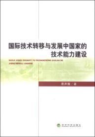 国际技术转移与发展中国家的技术能力建设
