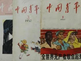 故纸堆之老封面;中国青年等几种