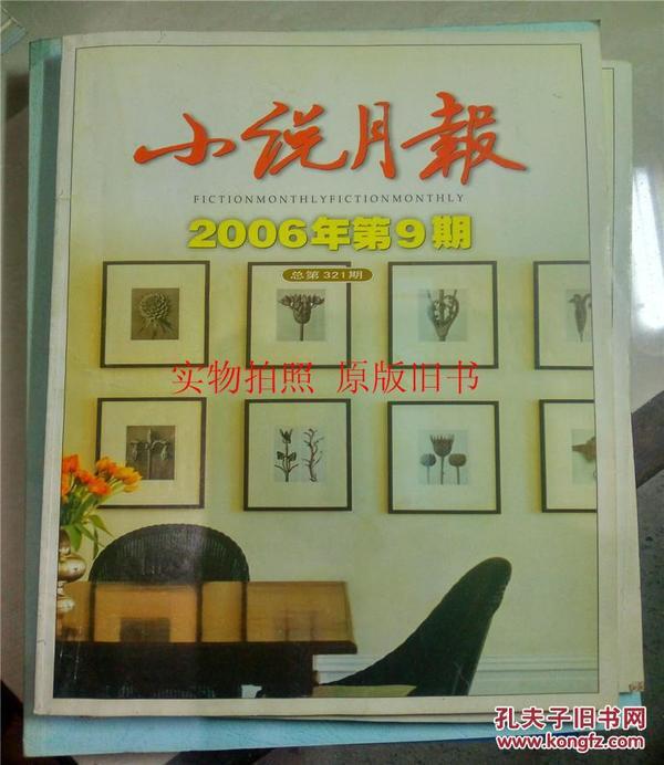 小說月報2006年第9期《命案高懸》.
