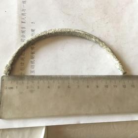 旧铜提梁 12厘米 009