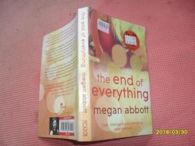 英文原版书:the  end  of  everything   megan abbott(终结者)