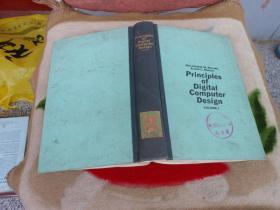 数字计算机设计原理 第一卷 PRINCIPLES OF DIGITAL COMPUTER DESIGN(英文版)