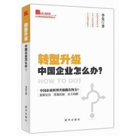 转型升级 中国企业怎么办?