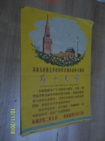 苏中友好 宣传画