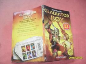 英文原版书:Gladiator Boy: A Heros Quest(男孩的角斗士梦想)