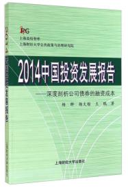2014中国投资发展报告