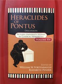 Heraclides of Pontus: Discussion (本都的赫拉克利德:讨论集)