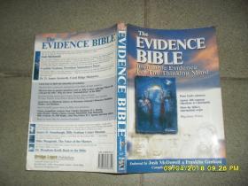 The Evidence Bible(8品小16开下书口及封底有水渍皱褶略有勾画笔迹2001年英文原版684页)42740