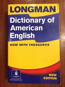 带光盘 美国进口辞典  朗文美国英语词典 第三版 全彩版  FULL COLOUR EDTION Longman Dictionary of American English