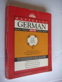 MASTERING GERMANB  英文版<德语学习>