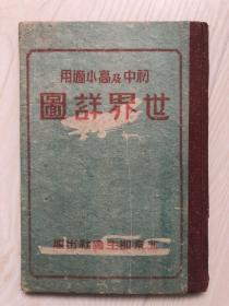 初中及高小适用【世界详图】 (精装)