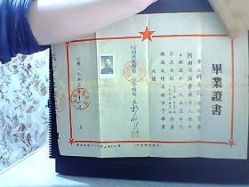 毕业证书 1955年