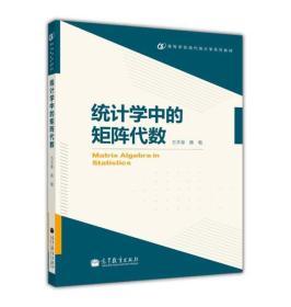 高等学校现代统计学系列教材:统计学中的矩阵代数