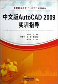 中文版AutoCAD 2009實訓指導