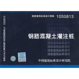 10SG813 钢筋混凝土灌注桩-结构专业