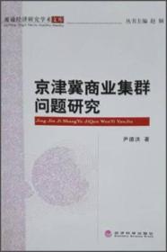 【非二手 按此标题为准】京津冀商业集群问题研究