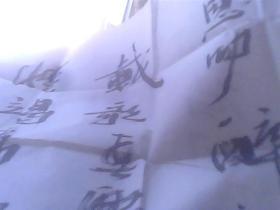 王清献书法+画册