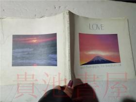 原版日本日文 ウインダム・ヒル写真集 ラブ 岛本脩二 佐藤正治  小学馆昭和60年小16开平装