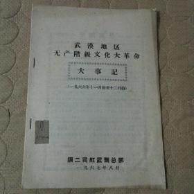 武汉地区无产阶级文化大革命大事记(一九六六年十一月份至十二月份)