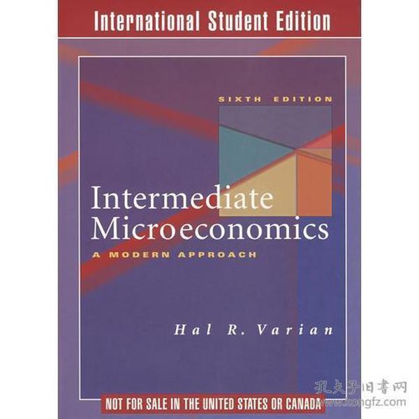 Intermediate Microeconomics (6 E) 中级微观经济学(第六版)