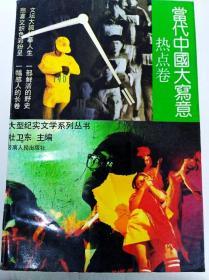 DI284492 大型紀實文學系列叢書--當代中國大寫意·熱點卷【一版一印】