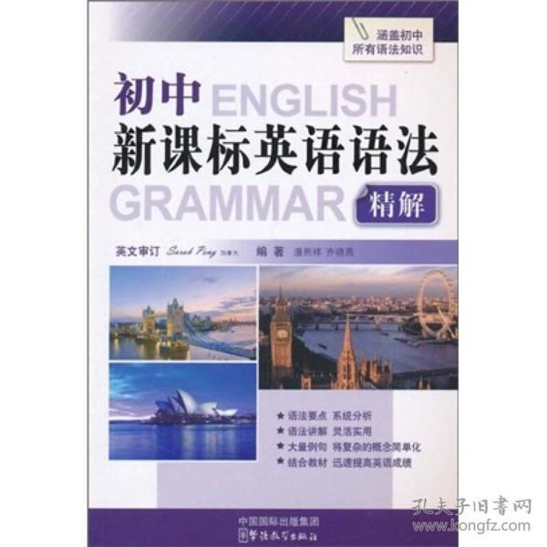 初中新课标英语语法精解