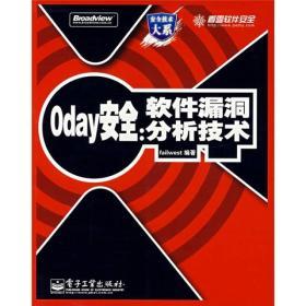 正版书 Oday安全:软件漏洞分析技术