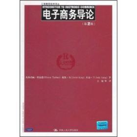 电子商务导论(第2版)(工商管理经典译丛) 特伯恩,王健  中国人