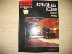 【英文原版含全新未拆DVD】《器樂與聲樂錄音技術》Instrument and Vocal Recording (Hal Leonard Recording Method)