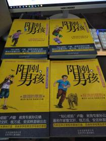 校园励志阳刚男孩系列4册 男孩向前冲 曹文轩等编著 阳刚男孩家庭少年励志经典 儿童文学读物