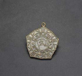 JZ1158红色收藏仿古勋章纪念章东北民主联军勋章纪念章