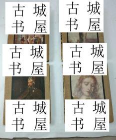 罕见,古籍珍本,达芬奇作品集4卷,罗姆·丁托列托彩色艺术图录,精装