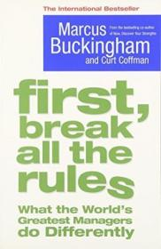 First  Break All The Rules