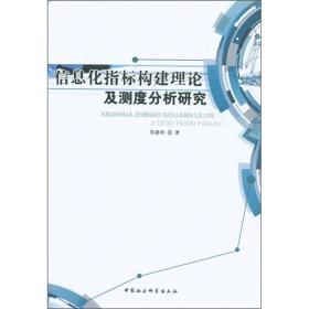 信息化指标构建理论及测度分析研究