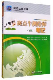 测绘法律法规注册测绘师辅导用书:斑点牛测绘师笔记(下册)